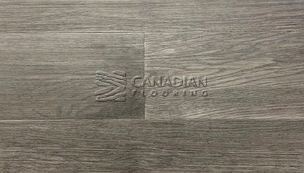 "Engineered White Oak,  Canfloor, 6.5"" x 3/8""Color:  Degrees Engineered flooring"