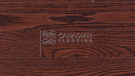 "Engineered Red Oak<br> Panache, 7.5""  x 3/4""  <br>Color: Mocha"