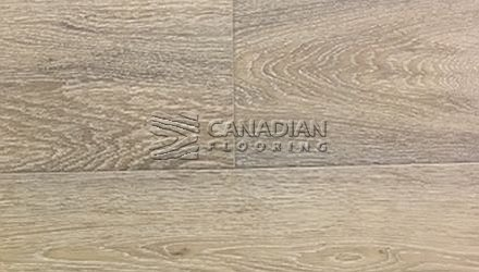 "White Oak, Fuzion, Classical Elegance, 7.5"" x 9/16"",  Color: Prelude Engineered flooring"
