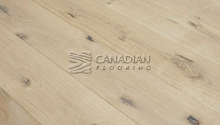 "Engineered FlooringWhite Oak Unfinished6.0"" x 3/4"", Character4.0 mm wear layer ENGINEERED FLOORING"