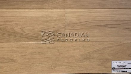 "Engineered White Oak,<br>Fuzion Outer Banks, <br>Click Collection<br> 5-7/8"" x 9/16"", <br>Color:  Warm Pashmina"