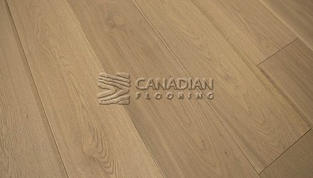 "Engineered White Oak <br>Grandeur, 6.5"" x 3/4""<br>Scandinavia Collection<br> Color: Maldives"