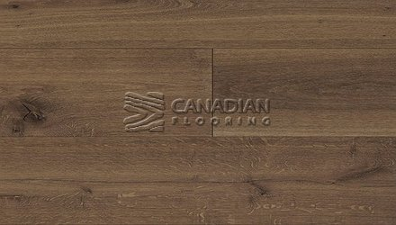 "Engineered  Oak, Fuzion, Beaux Arts, Size: 10-1/4"" x 3/4"", <br> Color: Brushwork"