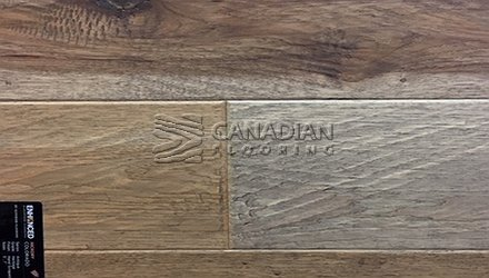 "Engineered Hickory<br> Superior Enhanced <br>7.0"" x 3/4""<br> Hand-Scraped Finish<br>Color: Colorado"