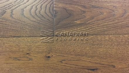 "Fuzion Euro Oak, <br>Coastline Collection<br>7.5"" x 1/2"", <br>Color: Salt Marsh"