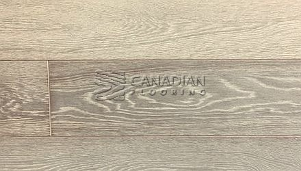 "Engineered White Oak, Fuzion Outer Banks,  Click, 5-7/8"" x 9/16"", Color:   Point Grey Engineered flooring"