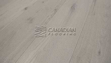 "Engineered White Oak <br>Grandeur, 7.5"" x 3/4""<br>Metropolitan Collection<br> Color: Snowfall"