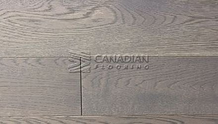 "Engineered Oak, Fuzion, <br>Bistro Collection, <br>5.0"" x 3/4"", <br>Color:  Earl Grey"