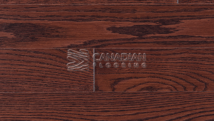 "Red Oak, Superior Flooring,  5-3/16"" x 3/4"", Brushed Finish, <br> Color:    Autumn"