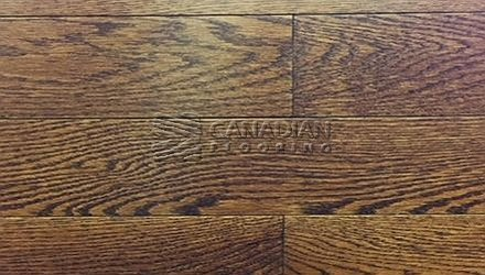 "Solid Red Oak,  Panache, <br>Wire-Brushed Finish <br> 3-1/4"", &nbsp 4-1/4"" <br>Color:Caramel"