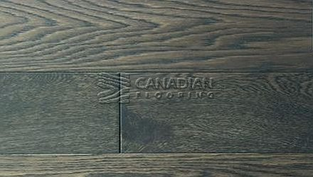 "Engineered Oak, Fuzion, Bistro Collection 5.0"" x 3/4"" Color: Antique Pewter ENGINEERED FLOORING"