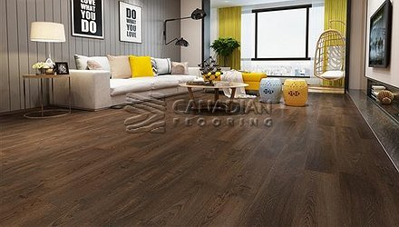 Luxury Vinyl Flooring, Biyork, Hydrogen 6 mm, Click, Color:  Tempted Vinyl flooring