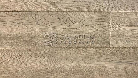 "Engineered White Oak, CANFLOOR, Loft Collection, 7-1/2"" x 3/4"" Color: Titanium Grey Engineered flooring"