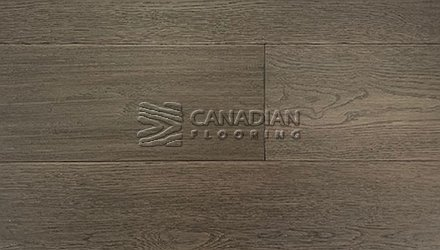 "White Oak, Canfloor, Hand-Scraped, 6-1/3"" x 3/4""<br> Color:   English Manor"