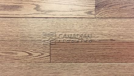 "Solid Hardwood Flooring, <br>Red Oak,  Panache, 3-1/4""<br>Color: Musket"