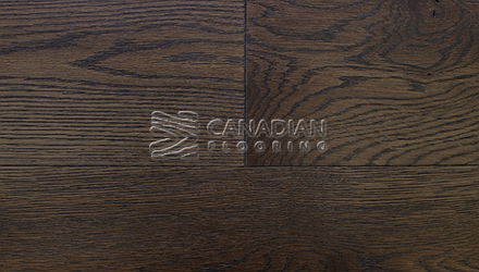 "Engineered White Oak<br> Superior Enhanced <br>5.0"" x 3/4""<br> Wire-Brushed Finish<br>Color: Rawhide"