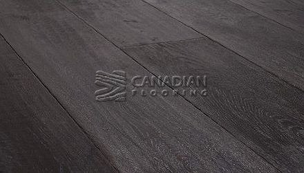 "Engineered White Oak Green Touch, Brushed6.0"" x 9/16"", Color:  Stormy Sky ENGINEERED FLOORING"