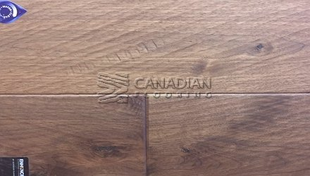 "Engineered Walnut Superior Enhanced 7.0"" x 3/4""Hand-Scraped Finish Color: Natural ENGINEERED FLOORING"