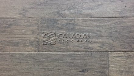 "Engineered Hickory, Ambiance,  5.0"" x 1/2"",  Click Color: Steel Grey Engineered flooring"