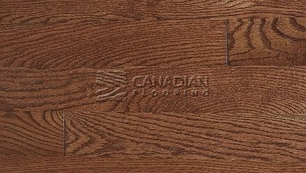 "Solid Red Oak, Panache, 3-1/4"" x 3/4"",  Color: Cappuccino HARDWOOD FLOORING"