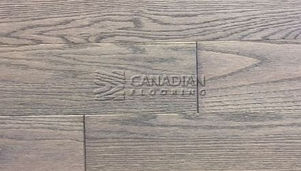 "Engineered, Red Oak<br> Husky Flooring<br> International Collection<br> 5-0"" x 5/8"", Brushed<br> Color:  Slate"