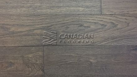 "Engineered White Oak,  Brand Surfaces, 6.0"" x 1/2"", <br>Color: Midtown Brown"