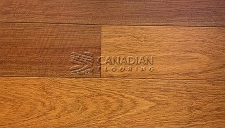"Engineered Brazilian Cherry (Jatoba),  Sunca, 5.5"" x 3/4"", Color:  Natural Engineered flooring"