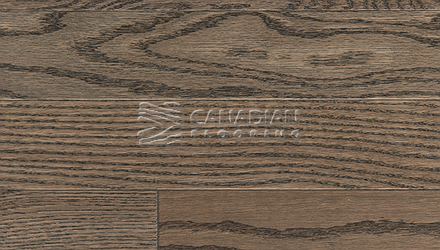 "Red Oak, Superior Flooring, 5-3/16"" x 3/4"", Brushed Finish, <br> Color:  Driftwood"