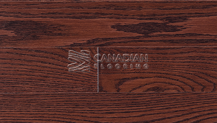 "Solid Red Oak, Superior Flooring, 3-1/4"", Bushed<br>Color:  Autumn"