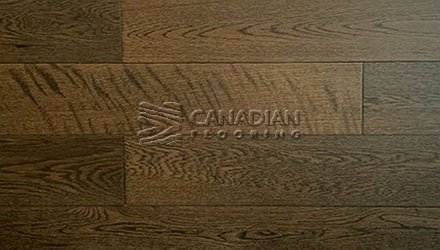 "White Oak, Canfloor AN, 5.0"" x 3/4"", Wire-Brushed Finish<br>Color:    Field"