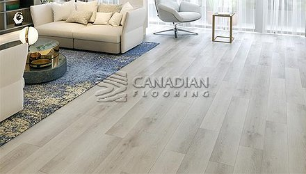 Luxury Vinyl Flooring, Biyork, Hydrogen 6 mm, Click, <br>Color:  Dusty