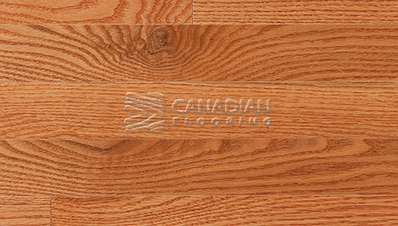 "Solid Red Oak, <br>Superior Flooring<br> 4-1/4"" x 3/4""<br>  Color: Golden"