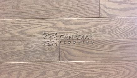 "Solid Red Oak<br> Husky Flooring<br>4-1/4"", Prestige<br>Color:  Linen"