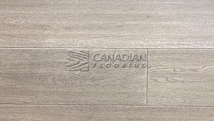 "Engineered White Oak <br>Canfloor, Hand-Scraped<br>6.5"" x 3/4""<br>Color:  Silver Grey"