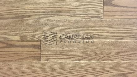 "Solid Red Oak<br> Husky Flooring<br>4-1/4"", Prestige<br>Color: Sable"