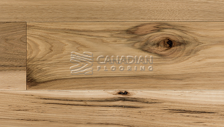 "Engineered Hickory<br> Superior Enhanced <br>7.0"" x 3/4""<br> Wire-Brushed Finish<br>Color: Natural"