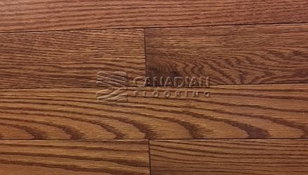 "Solid Red Oak,  Panache, Wire-Brushed Finish  3-1/4"",   4-1/4"" Color:   Cambridge Hardwood flooring"