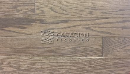 "Solid Red Oak<br> Husky Flooring<br>4-1/4"", Prestige<br>Color:  Pistachio"