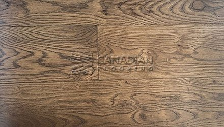 "White Oak, Canfloor, Hand-Scraped, 6-1/3"" x 3/4""<br> Color:  Camel"