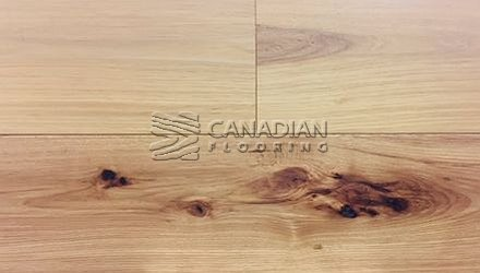 "Fuzion Euro Oak, <br>Coastline Collection<br>7.5"" x 1/2"", <br>Color: Golden Sands"