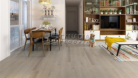 Luxury Vinyl Flooring, Biyork, Hydrogen 6 mm, Click, <br>Color:  Nudie