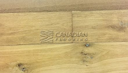 "Engineered White Oak, <br>Brand Surfaces, <br> 6-1/2"" x 3/4"",  <br> Color:  Smoked Accent"