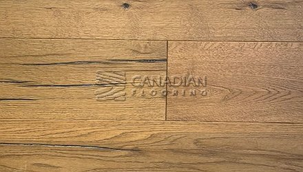 "Engineered White Oak <br>Grandeur, 7.5"" x 3/4""<br>Metropolitan Collection<br> Color: Champs-Elysees"
