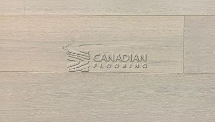 "Engineered White Oak, CANFLOOR, Loft Collection, 7-1/2"" x 3/4""<br> Color: Cloud"
