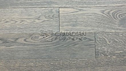 "Engineered European Oak<br>Canfloor, 5.5"" x 3/4""<br>Character Grade<br> Color: North Sea"