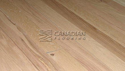 "Engineered FlooringRed Oak Unfinished 6.0"" x 3/4"", Character4.0 mm wear layer ENGINEERED FLOORING"