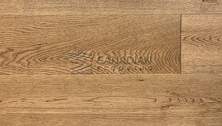 "Engineered White Oak, CANFLOOR, Loft Collection, 7-1/2"" x 3/4""<br> Color: Saddle"