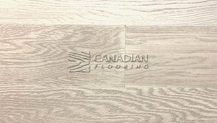 "Engineered White Oak,  Canfloor, 6.5"" x 3/8""<br>Color: Pier 27"