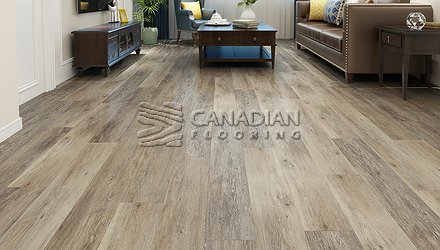 Luxury Vinyl Flooring, Aqua Plus, NAF, 5.0 mm, Color:  Knightsbridge