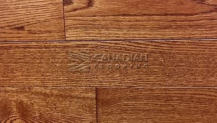 "Solid Hardwood Flooring, <br>Red Oak,  Panache, 4-1/4""<br>Color: Amber"